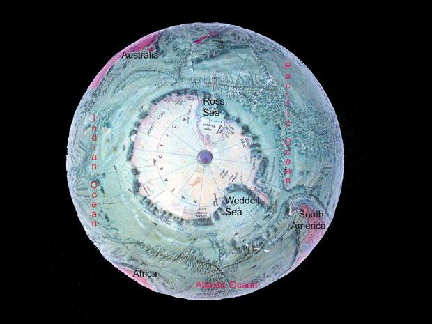 The World Ocean - Earth's four oceans